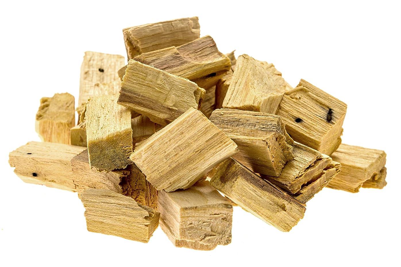 緑ミュウミュウ裁判所プレミアムPalo Santo Holy Wood Incenseチップ、for purifying、クレンジング、ヒーリング、瞑想、Stress Relief。100?%自然と持続可能な、野生の収穫。( 1oz )