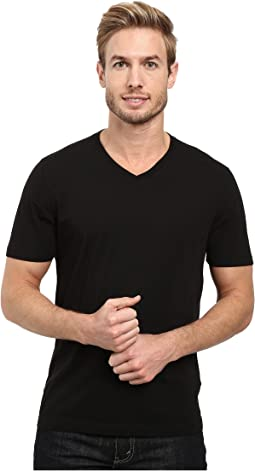 Agave Supima Vee Neck Short Sleeve Tee