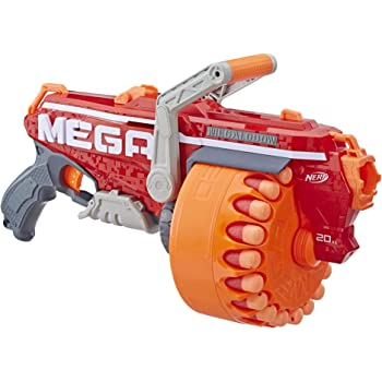 Megalodon Nerf N-Strike Mega Toy Blaster with 20 Official Mega Whistler Darts