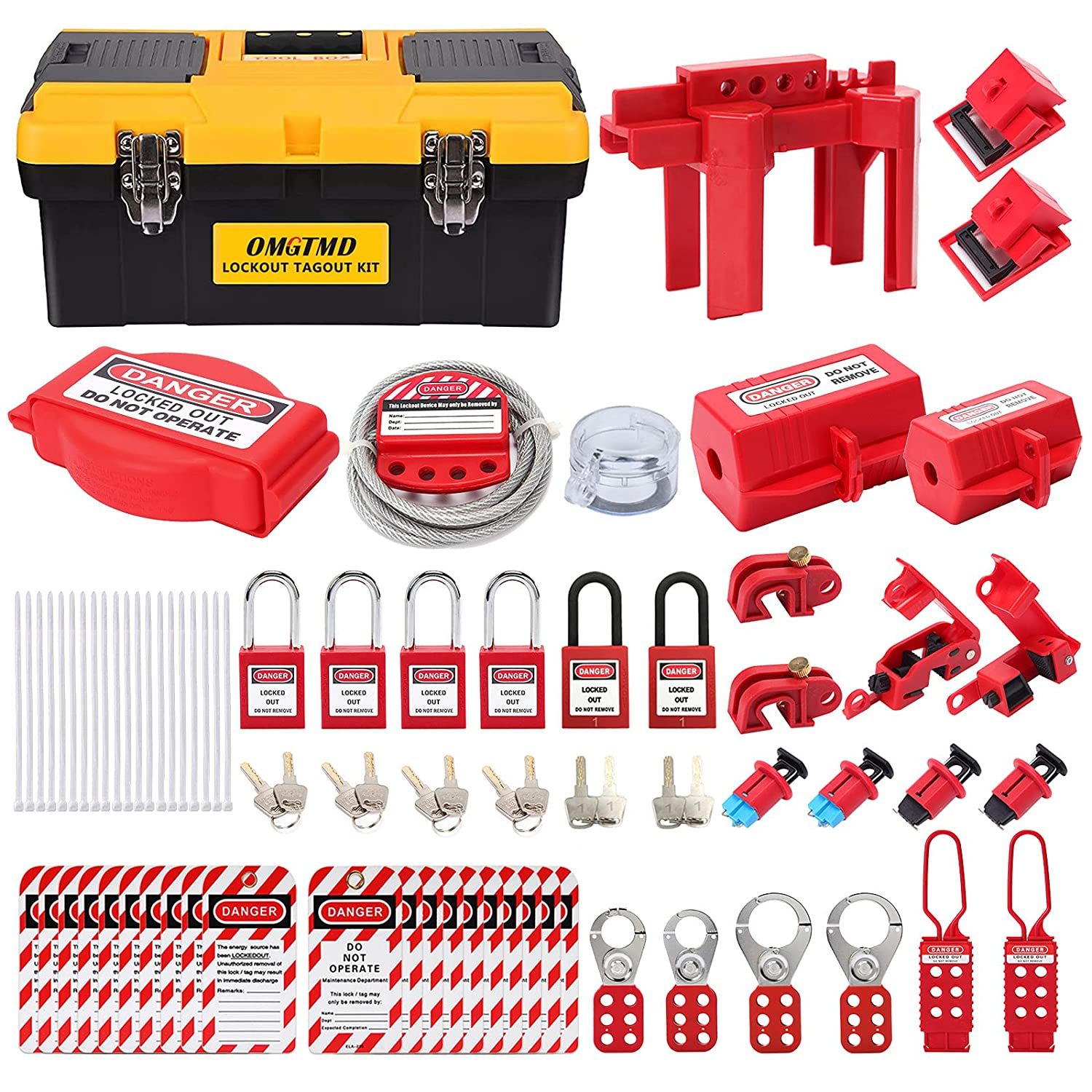 OMGTMD Lockout Tagout Kit Circuit Free Shipping New Ball Device Sales results No. 1 Breaker Va