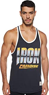 Under Armour mens UA Project Rock Iron Tank T-Shirt