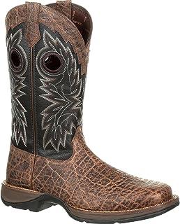 حذاء برقبة غربي متمرد من Durango للرجال برقبة مربعة عند الأصابع - Ddb0168