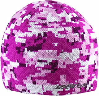 Seirus Innovation 3384 Junior Digi Quick Clava Beanie Hat with pulldown Face Mask for Cold Weather Protection