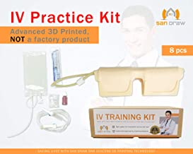 Wearable IV Practice Trainer Kit - Phlebotomy and Venipuncture Practice Arm - Training and Perfecting IV + Phlebotomy + Venipuncture Procedures and Techniques – San Draw