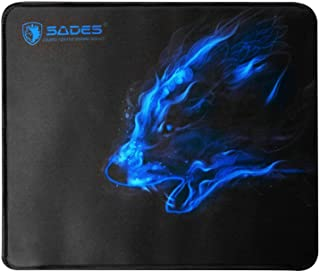 Sades SAP1 Gaming Mouse Pad Mouse Mat with Special Smooth Surface Large Size Black