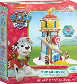 Crafty Cooking Kits Paw Patrol The Lookout Cookie, Gingerbread, 25.95 Ounce