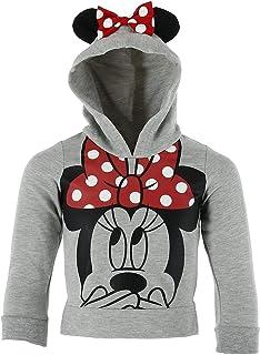 Disney Minnie Mouse Little Girls Lightweight Hoodie Shirt Grey 329bc7a18