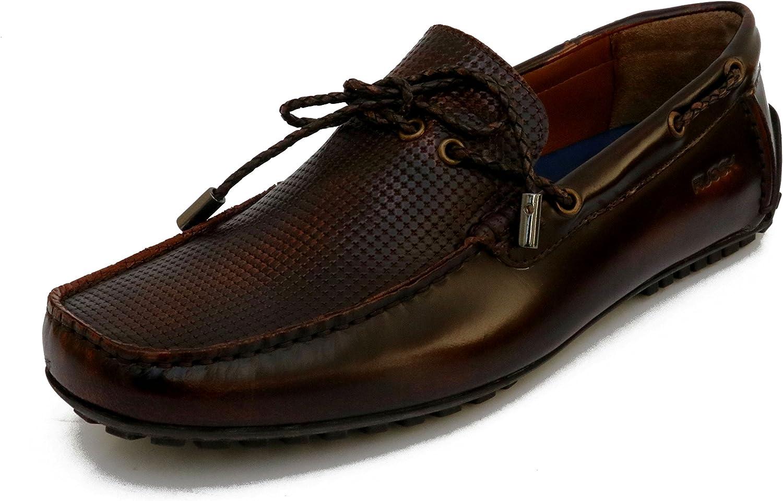 Ruosh Men's Tan Light Brown Loafers-10 UK India (44 EU)(AW17-OSLOW-01 D)
