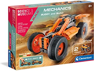 Clementoni 61512 Science Museum Mechanics Buggy and Quad Kit for Children and Adults, Ages 8 Years Plus