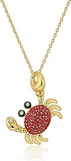 crab necklace pendant