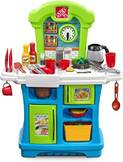 Step2 Little Cooks Kitchen | Play Kitchen for Toddlers & Toy Accessories Set | Kids Kitchen Playset with Realistic Sounds