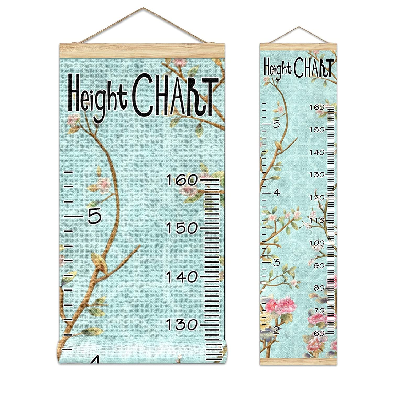 Ranking integrated 1st place Kids Growth Chart Ruler for Measure Wood Height Frame Wall OFFicial store