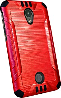DALUX Combat Phone Case Compatible with Coolpad Legacy S - Red/Black