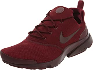 Nike Mens Presto Fly Se Fabric Low Top Lace Up Running Sneaker, Red, Size 10.5