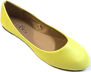 20c40d23d941 Shoes 18 Womens Classic Round Toe Ballerina Ballet Flat Shoes