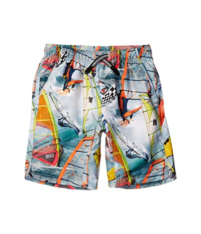Molo Nario Swim Shorts (Little Kids/Big Kids) (Windsurfers) Boy