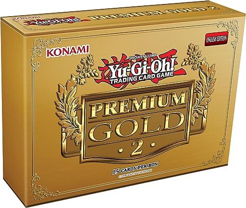 barato en alta calidad Yu Gi Oh Premium Premium Premium oro Retorno de el Bling Juego de Cartas (Pack de 15)  orden ahora disfrutar de gran descuento