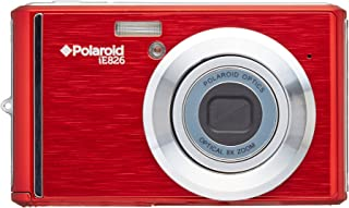 Polaroid IE826-RED Digital Camera with 18 Megapixels and 8X Optical Zoom - Red(Renewed)
