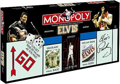 Monopoly Elvis Collector′s Edition Wie Neu Gesellschaftsspiel Brettspiel Presley