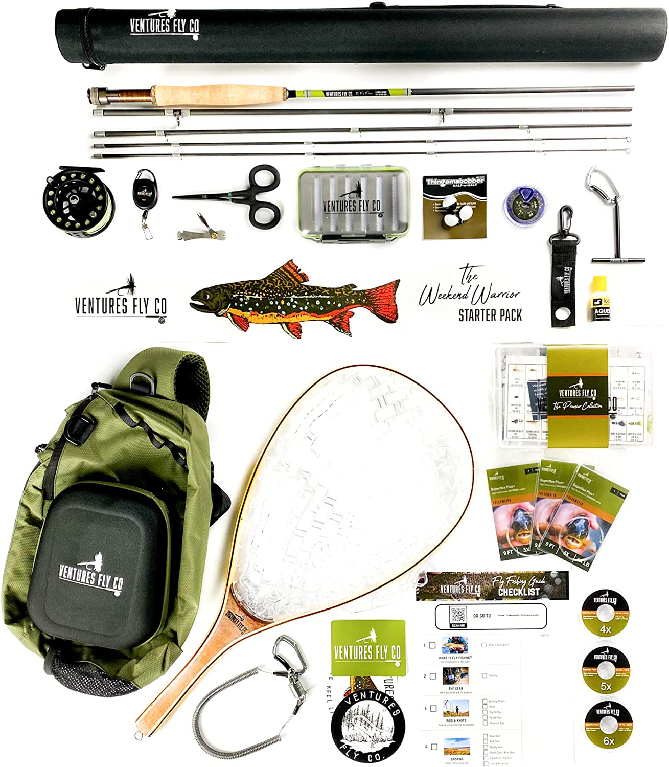 Ventures Fly Co. Starter 23 El Under blast sales Paso Mall Accessories Fishing Packages