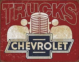 Desperate Enterprises Chevrolet Trucks 40s Tin Sign, 16