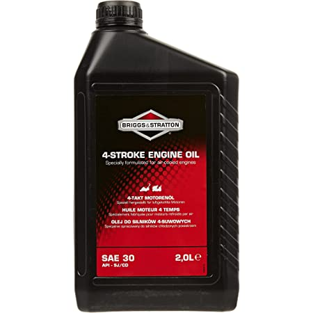 Briggs & Stratton 100008E Huile Moteur SAE 30, 2.0 litre