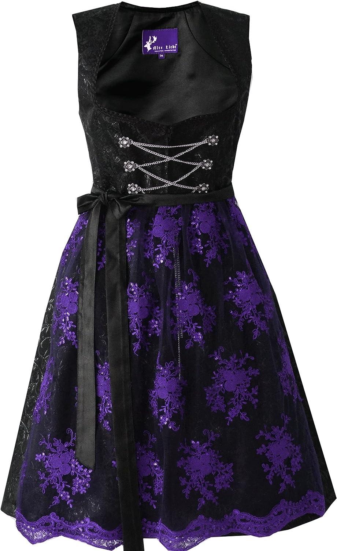 Alte Liebe Liebe Liebe Trachtenkleid 2tlg. Dirndl Kleid Gothic schwarz B077Q6KH5T  Unsere Kleidung gibt Ihnen viel SelbstGrünrauen 0d65bb