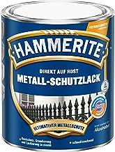AKZO NOBEL (DIY Hammerite 5087571 metaalbeschermende lak Hammerite metaalbeschermende lak glanzend 0,250 L, blauw, 250 ml