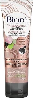 Bioré Milde Porieverkleinende Scrub met Rose Quartz + Houtskool voor een normale tot vette huid - 110 ML