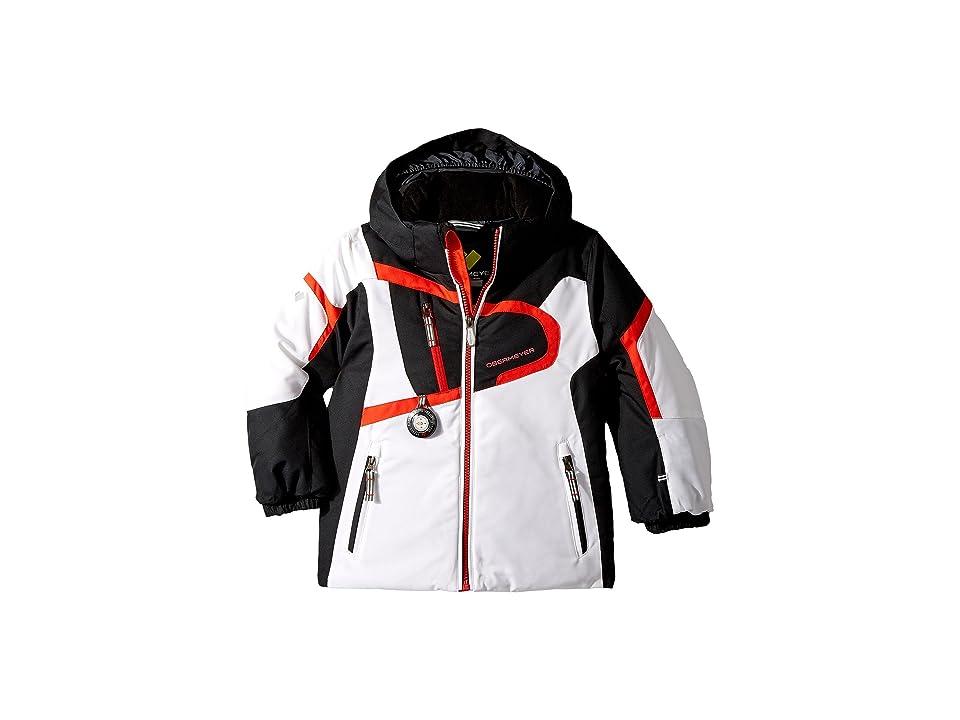 Obermeyer Kids Super G Jacket (Toddler/Little Kids/Big Kids) (White) Boy