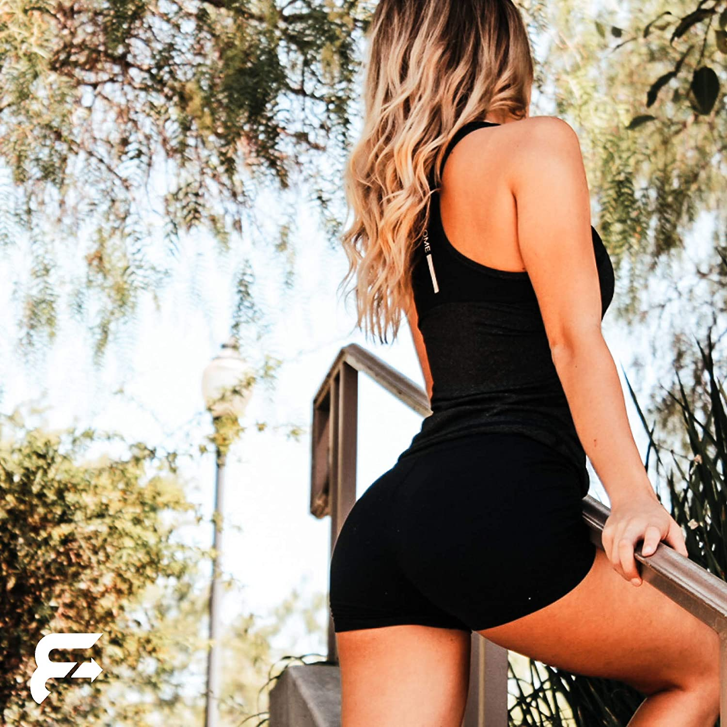 Activewear Racerback Tank Top for High Waisted Jeans//Leggings with Graphic Design by Vecome. Workout Clothes for Women