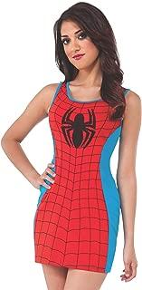 Rubie's Costume Women's Marvel Universe Adult Spiderman Tank Dress