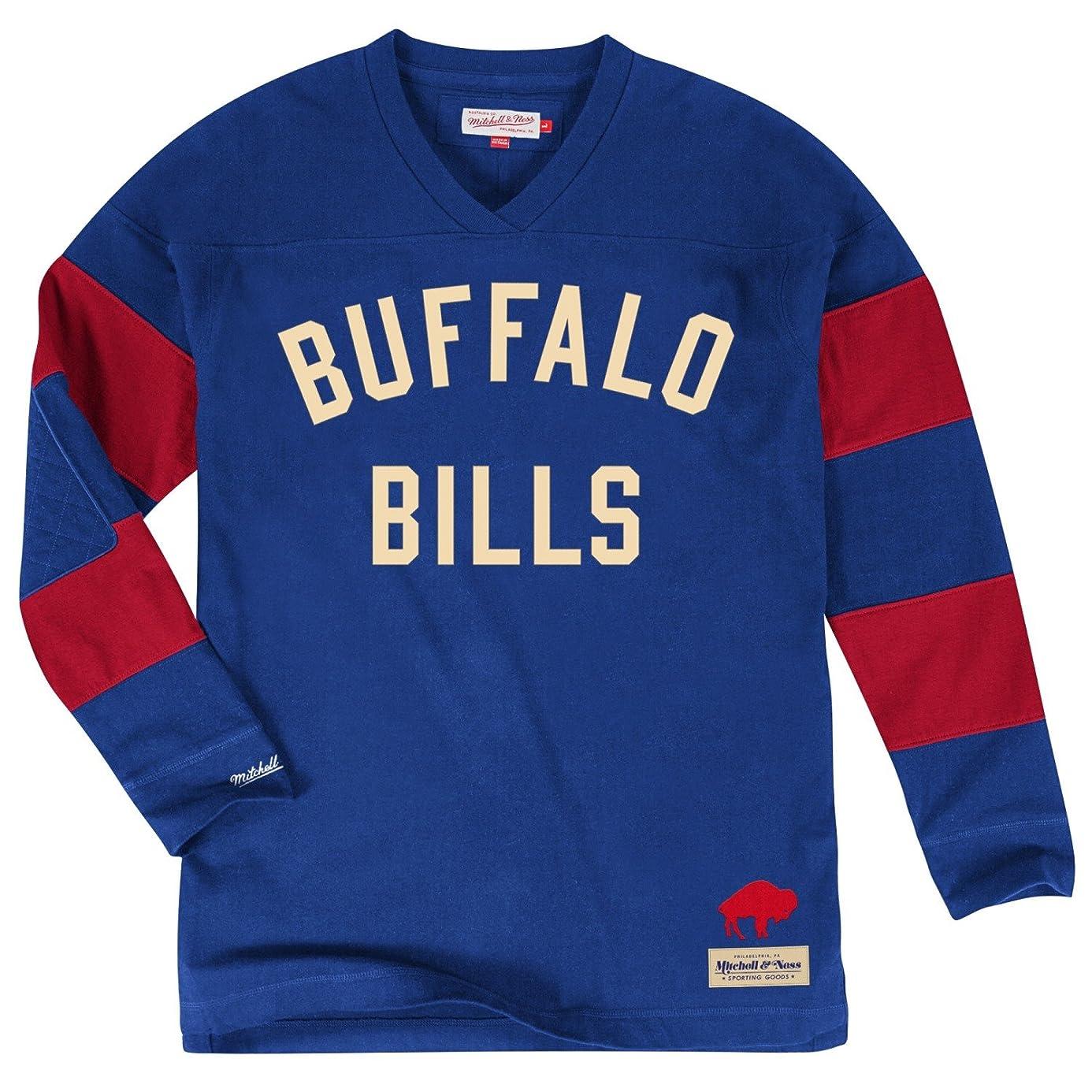 Mitchell & Ness Buffalo Bills NFL Field Goal Men's Heavyweight L/S Shirt
