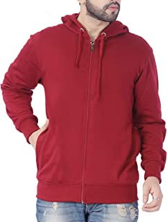 ADBUCKS Winter Wear Hood with Zipper Cotton Jacket