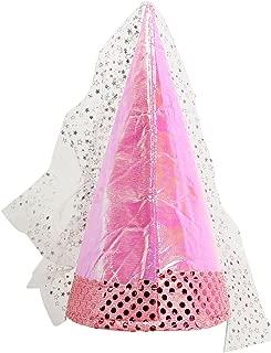 Windy City Novelties Pink Fairy Princess Hat for Girls Dress Up Party