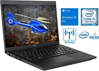 "Dell Latitude 7390 Laptop, 13.3"" FHD Touch Display, Intel Core i5-8350U Upto 3.6GHz, 8GB RAM,..."