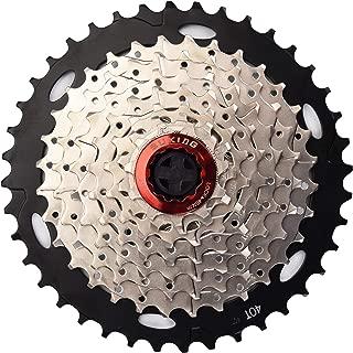 CYSKY 8 Speed Cassette 8Speed 11-40 Cassette Fit for Mountain Bike, Road Bicycle, MTB, BMX, Sram Sunrace Shimano ultegra xt (Light Weight)