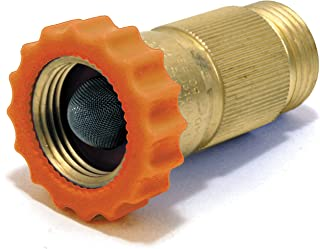 Valterra RV Water Regulator, Lead-Free Brass Water Regulator for Camper, Trailer, RV Plumbing System, 40-50 psi