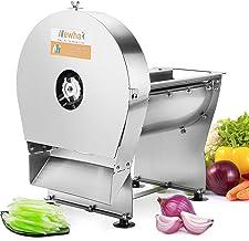 $309 » Newhai Electric Commercial Vegetable Shredder Machine 3mmX3mm Commercial Food Shredding Machine Fruit Shredder Stainless S...