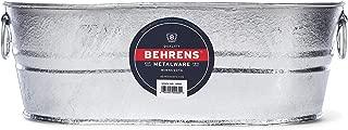 Behrens 00-OV 4-Gallon Oval Steel Tub