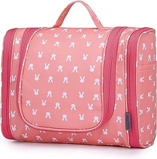 Wind Took necessär stor necessär för upphängning sminkväska tvättväska resväska resa toalettväska för män kvinnor (Light S...