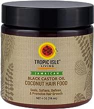 Tropic Isle Living Coconut Jamaican Black Castor Oil Hair Food (4 oz)