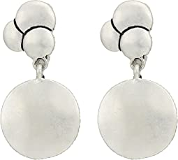 Layer Double Drop Clip Earrings