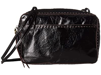 Hobo Crux (Black) Satchel Handbags