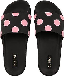 Do Bhai Slip On Slippers FlipFlops Daily-Use Sliders For Womens