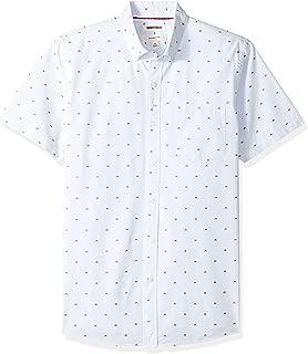 Amazon Brand - Goodthreads Men's Slim-Fit Short-Sleeve Dobby Shirt