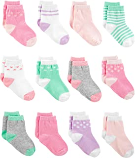 Girls' 12-Pack Socks