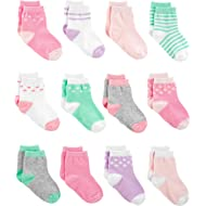 Simple Joys by Carter's Baby Girls' 12-Pack Socks