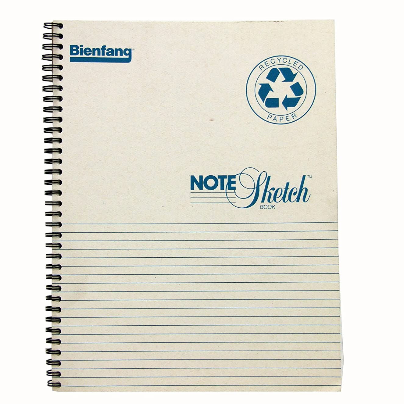 Bienfang 8-1/2 by 11-Inch Notesketch Pad with Horizontal Lines