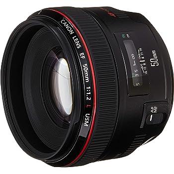 Canon EF 50mm f/1.2L USM Negro - Objetivo (Negro)
